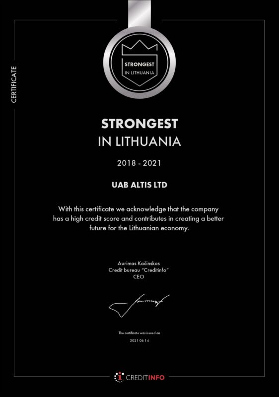 Strongest in Lithuania 2021